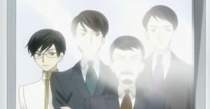 Kyoya's father and brothers
