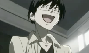Kyoya Laughing