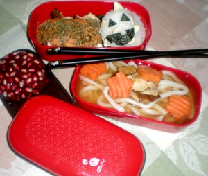 Fall themed bento